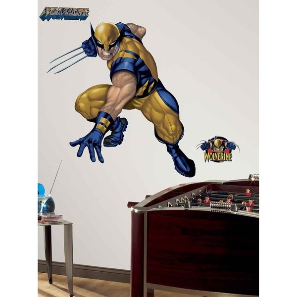 Wolverine Peel & Stick Giant Wall Decal Art