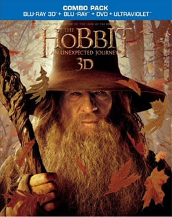 The Hobbit: An Unexpected Journey 3D (Blu-ray/DVD)