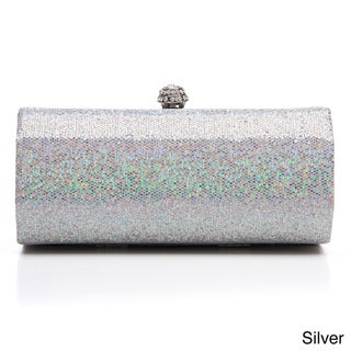 J. Furmani Women's Sequin Embellished Hardcase Clutch