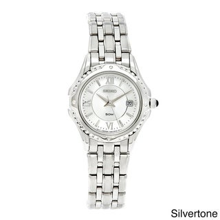 Seiko Women's 'Le Grand Sport' White Dial Watch