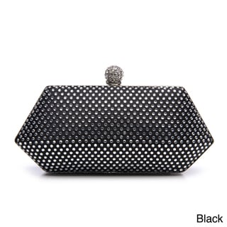 J. Furmani Women's Hardcase Studded Evening Clutch
