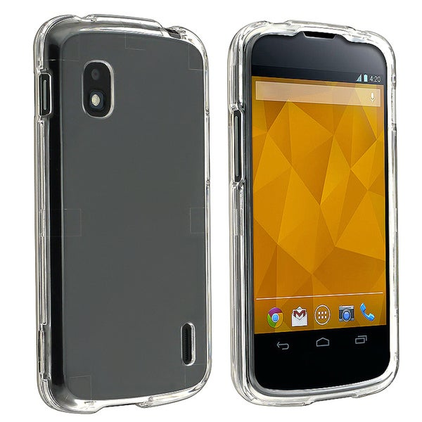 BasAcc Clear Crystal Snap-on Case for LG Nexus 4 E960