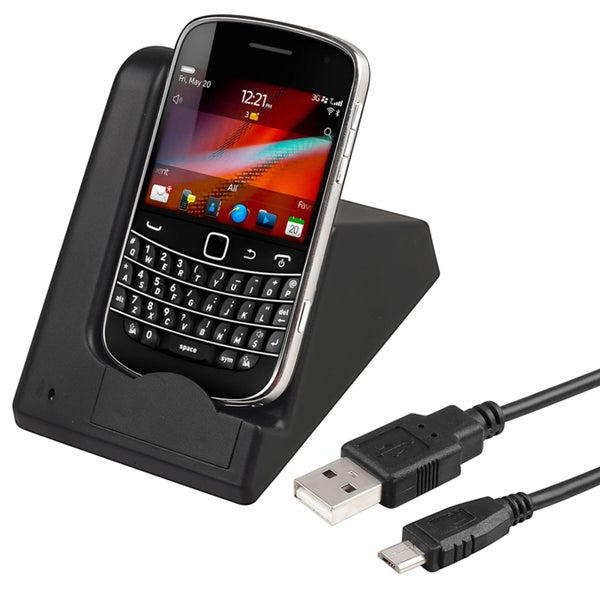 BasAcc 2-in-1 Cradle/ Charger for BlackBerry Bold 9900/ 9930