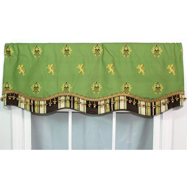 Knights Bridge Green Glory Valance