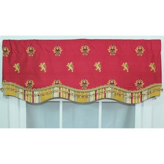 Knights Bridge Crimson Glory Valance