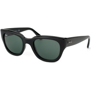Ray-Ban Women's RB4178 Shiny Black Cat Eye Sunglasses