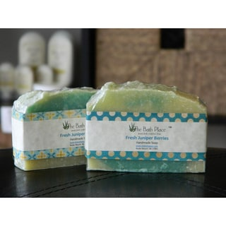 Fresh Juniper Berries Handcrafted Natural Soap Duo