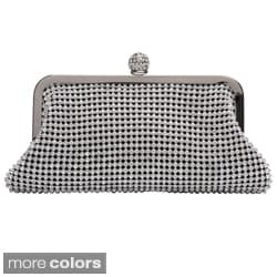 J. Furmani Women's Crystal and Metal Mesh Evening Bag