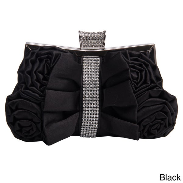 J. Furmani Rhinestone Bow Clutch