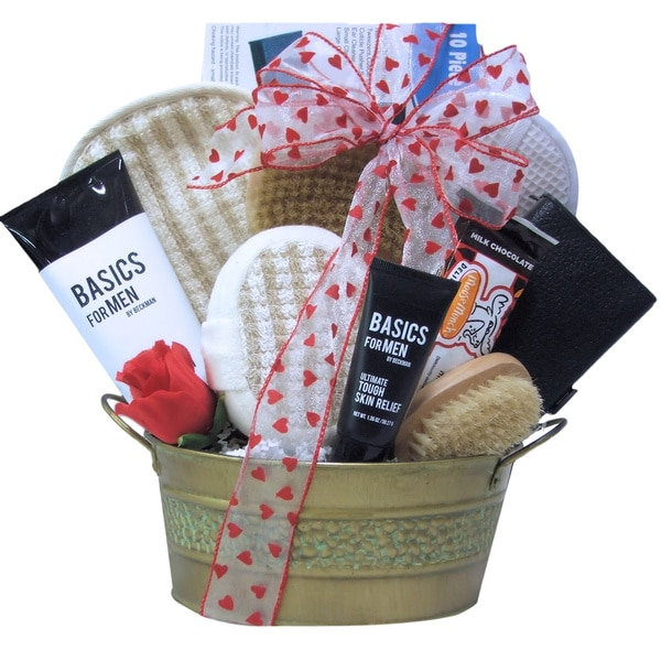 Just for Men Valentine's Day Spa Gift Basket