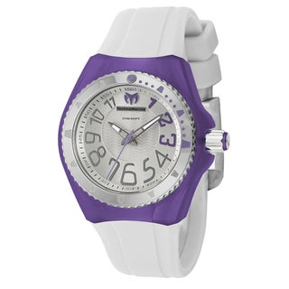 TechnoMarine Women's 'Cruise Original' Stainless Steel and Rubber Divers Watch