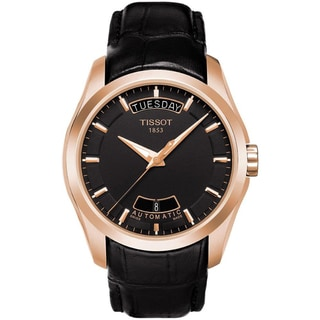 Tissot Men's 'Couturier' Rose Goldtone-plated Watch