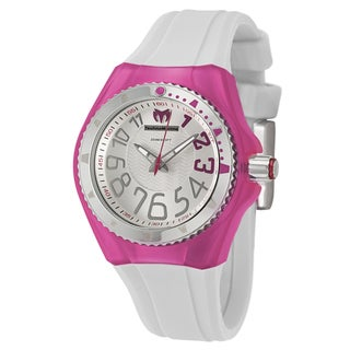 TechnoMarine Women's 'Cruise Original' Stainless Steel Pink Diver's Watch