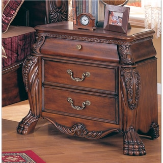 Monaliza Warm Cherry Night Stand