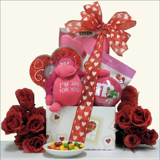 Valentine's Day Kid Girl Gift Basket