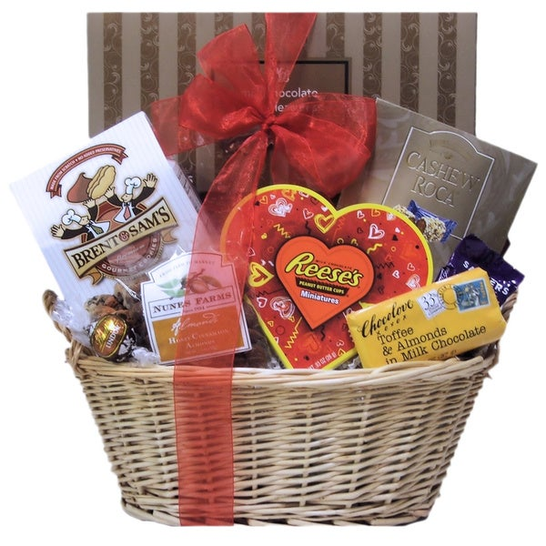 Valentine's Day Nuts About You Gift Basket