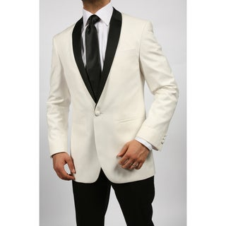 Ferrecci Men's Slim Fit One-button Tuxedo Jacket