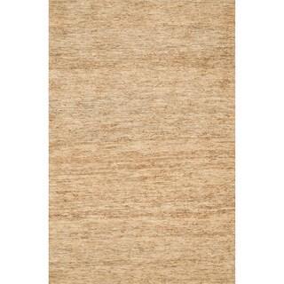 Hand-woven Natura Beige Jute Rug (3'6 x 5'6)