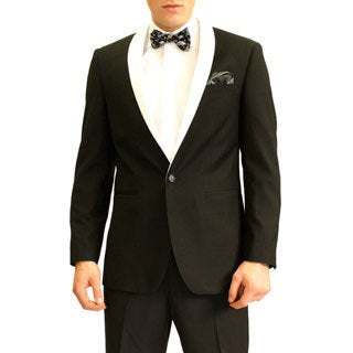 Ferrecci Men's Slim Fit Tuxedo Dinner Jacket