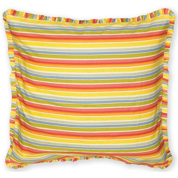 Summer Breeze Stripe Euro Sham