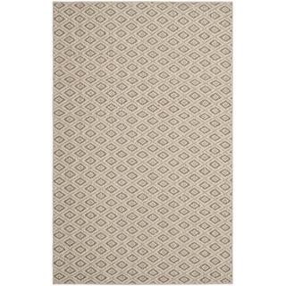 Safavieh Diamonds Taupe Sisal Wool Rug (8' x 11')