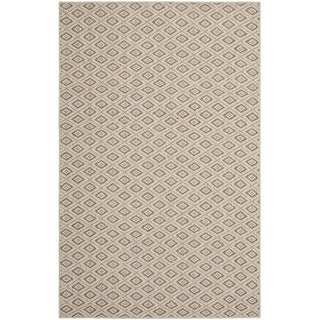 Diamonds Taupe Sisal Wool Rug (8' x 11')