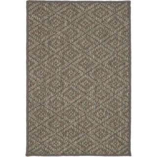 Safavieh Diamonds Natural Sisal Wool Rug (3' x 5')