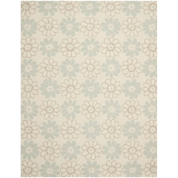 Safavieh Four Seasons Stain Resistant Hand-hooked Ivory Rug (8' x 10')