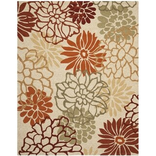 Safavieh Four Seasons Stain Resistant Hand-hooked Beige Rug (8' x 10')
