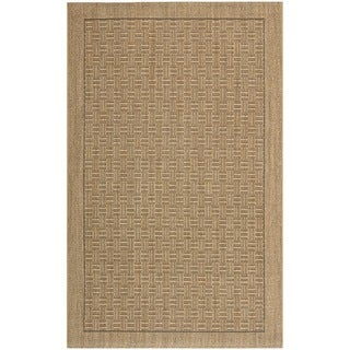 Contemporary Palm Beach Natural Sisal Rug (8' x 11')