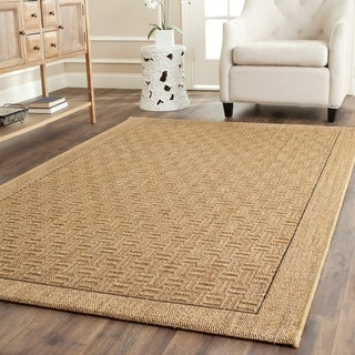 Safavieh Contemporary Palm Beach Natural Sisal Rug (8' x 11')