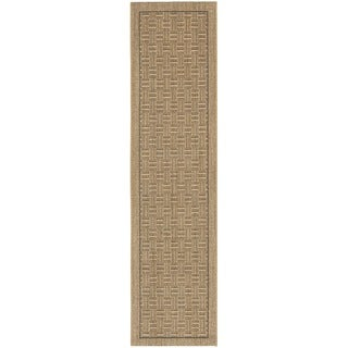 Palm Beach Natural Sisa Runner Rug (2' x 8')