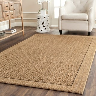 Safavieh Palm Beach Natural Sisal Rug (8' x 11')