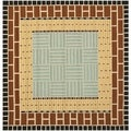 Safavieh Four Seasons Stain Resistant Hand-hooked Brown Rug (6' Square)