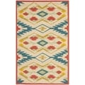 Safavieh Four Seasons Stain Resistant Hand-hooked Natural Rug (2'6 x 4')