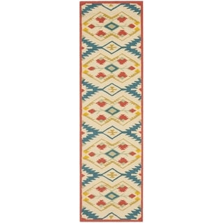 Safavieh Four Seasons Stain Resistant Hand-hooked Natural Rug (2' x 6')