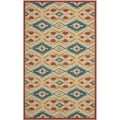 Safavieh Four Seasons Stain Resistant Hand-hooked Natural Rug (5' x 8')