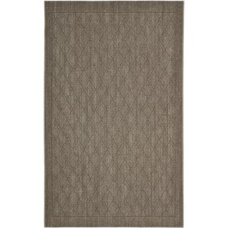 Palm Beach Silver Grey Sisal Rug (8' x 11')
