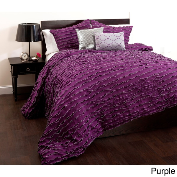 Lush Decor Modern Chic 5-piece Comforter Set
