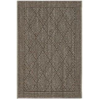 Safavieh Palm Beach Silver Grey Sisal Rug (2' x 3')