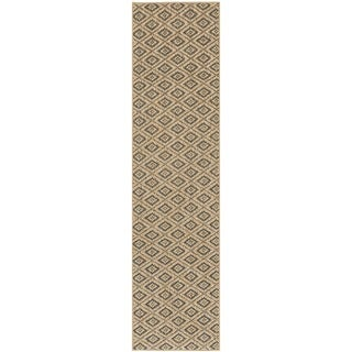 Palm Beach Contemporary Natural Sisal Rug (2' x 8')