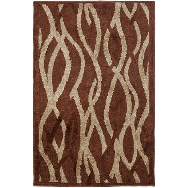 Safavieh Kashmir Rust Rug (3' x 5')
