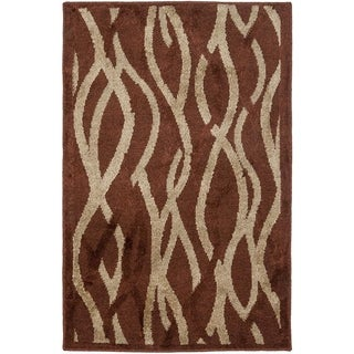 Safavieh Kashmir Rust Rug (4' x 6')