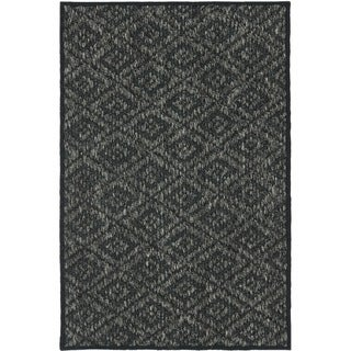 Palm Beach Charcoal Grey Sisal Rug (2' x 3')