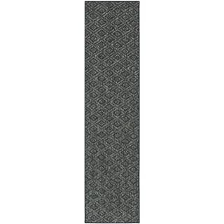 Palm Beach Charcoal Grey Sisal Rug (2' x 8')