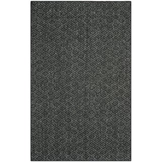 Palm Beach Charcoal Grey Sisal Rug (8' x 11')