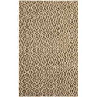 Geometric Palm Beach Natural Sisal Rug (8' x 11')