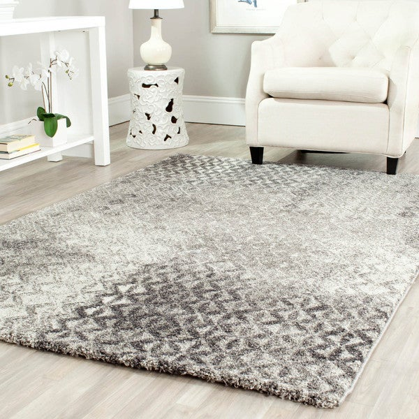 Safavieh Porcello Grey Rug (6'7 x 9'6)