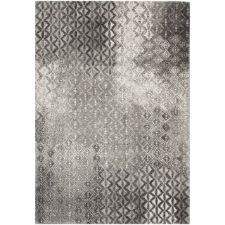 "Safavieh Porcello Contemporary Gray/Black Rug (8' x 11'2"")"
