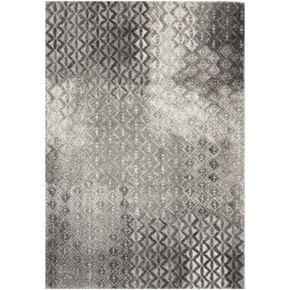 Safavieh Porcello Contemporary Gray/Black Rug (8' x 11'2